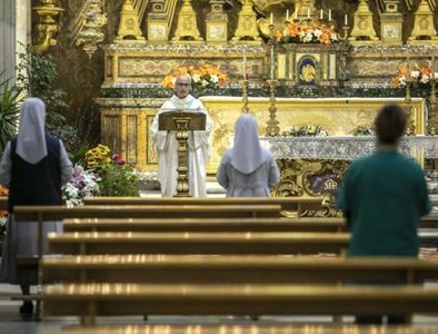 As the sound of music returns, Italy's church/state debate goes silent