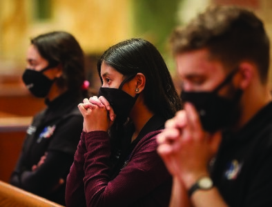 Young people urged to be 'persistent in highlighting' the sacredness of life