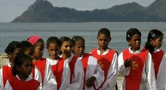 Pope says he hopes to visit Papua New Guinea, East Timor