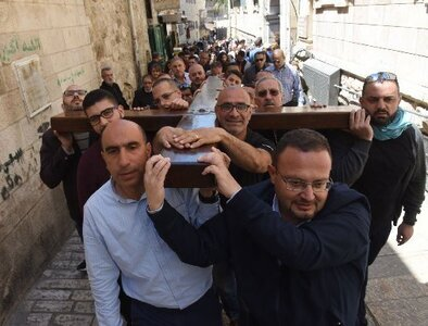 Holy Land Franciscans again offer virtual Way of the Cross during Lent