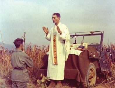 Remains of Father Emil Kapaun, Korean War military chaplain, identified