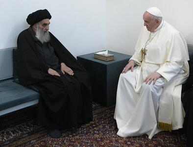 Pope, Iraqi Shiite leader affirm importance of dialogue, respect