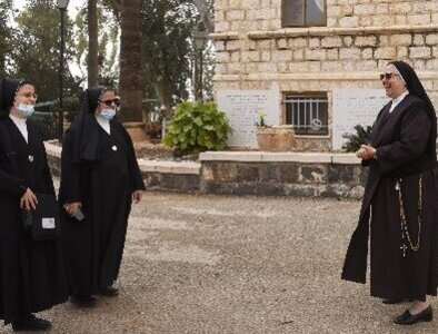 In silent Church of the Beatitudes, Franciscan nuns expand their prayers