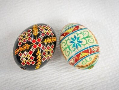 Students learn Christian symbolism in tradition of decorating Easter eggs
