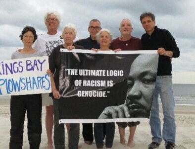 Kings Bay Plowshares protester receives 21-month prison sentence