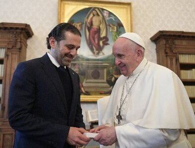 Pope expresses concern for Lebanon, repeats hope to visit the country