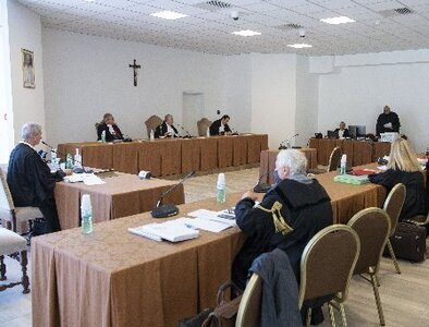 Priests testify at Vatican trial on abuse in minor seminary