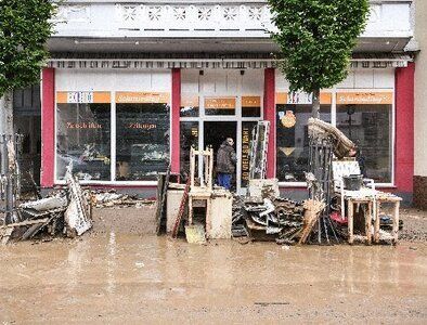 Role reversal: Developing nations express concern to flood-hit Germany
