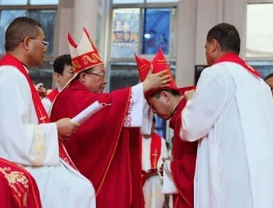 Fifth Chinese bishop ordained with both government, papal approval