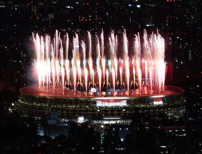 Olympic Games gets underway with opening ceremony