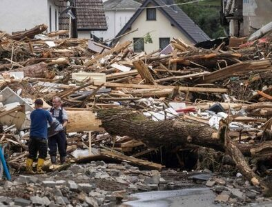 Pope deeply affected by news of flooding in Germany