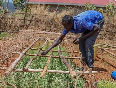 CRS program works with Ugandan men as they take on new family roles