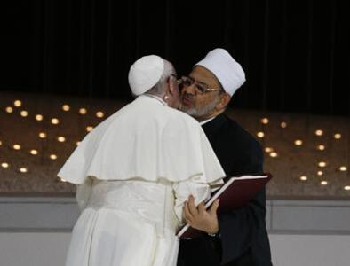 Essential Background: True belief leads to respect, peace, pope says at interreligious meeting