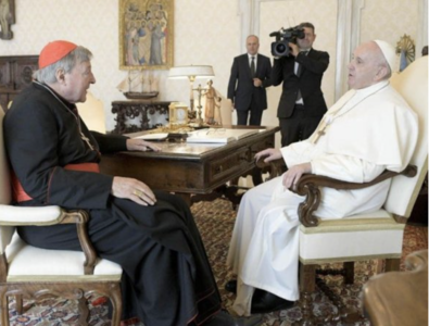 Pope meets Pell: 'Vindication' yes, 'resurgence' not so fast