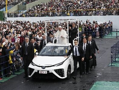 Vatican seeks to replace its service vehicles with all-electric fleet