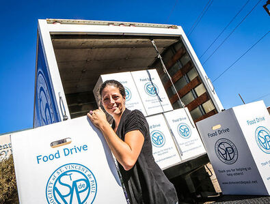 St. Vincent de Paul, Tucson, Christmas food drive