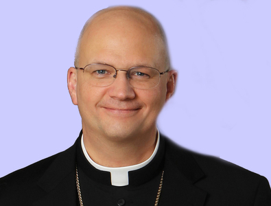 Bishop Weisenburger discusses the new vaccines with his special guests
