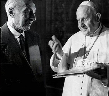 60 years ago, a Pope met a Jewish icon and the world changed