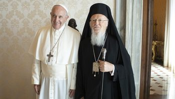 Pope sends greetings to Ecumenical Patriarch Bartholomew