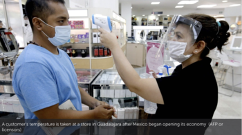 Mexico lifts lockdown amid pandemic