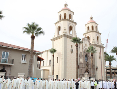 Bishop Weisenburger, the Diocese of Tucson entering Phase II and the local religious picture