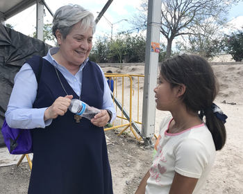 Don't turn away from suffering on border, urges Sister Norma Pimentel