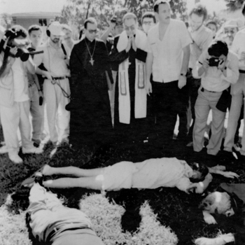 Campaigns to discredit church preceded '89 Jesuit murders, witness says