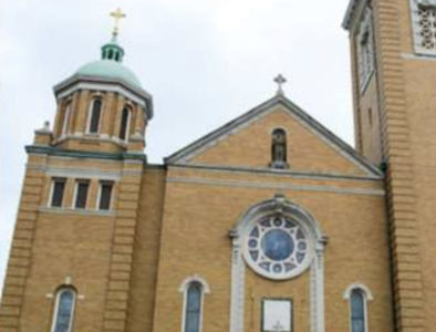 Church vandalized where Knights of Columbus began