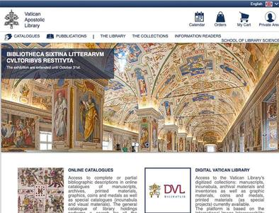 New Vatican Library website aims to serve scholars, entice curious