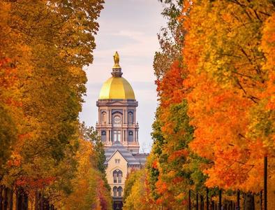 Notre Dame suspends in-person classes after coronavirus increase