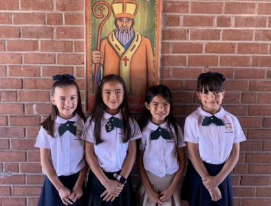 The Story of Us: Sts. Peter and Paul student Isabella Davis fourth grader in the news!