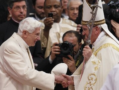 Continuity in particularity: Cardinal looks at Pope Francis, Benedict XVI