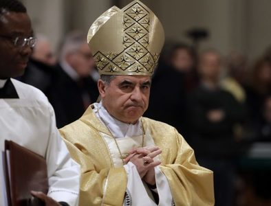 Cardinal Becciu offers defense after media reports raise more questions