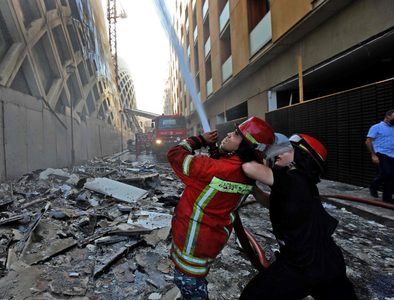 Beirut residents in shock after yet another blaze