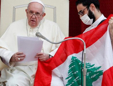 Pope and Bishop Weisenburger calls for day of prayer, fasting in solidarity with Lebanon