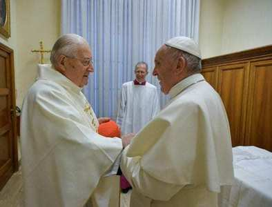Accountability: Cardinal Sodano tainted by abuse scandals steps down as dean, pope sets term limit