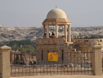 With land mines gone, Mass to be celebrated at West Bank baptismal site