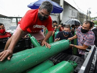 'For the love of God, send us oxygen,' plead bishops in Brazil's Amazon