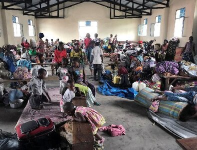 Months after Congo volcano, church helps with housing, trauma counseling