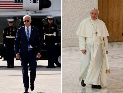 President Biden and Pope Francis scheduled to meet Oct. 29