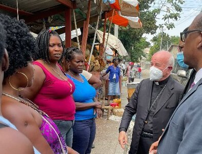 Cries of Haitian people 'cannot go unheeded,' Vatican official says