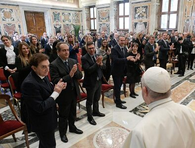 Pope to pharmacists: Don't let the 'culture of waste' affect you
