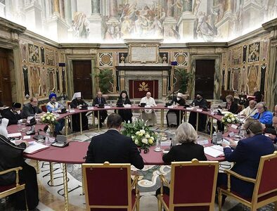 Pope: Religions reaffirm mission of integral education