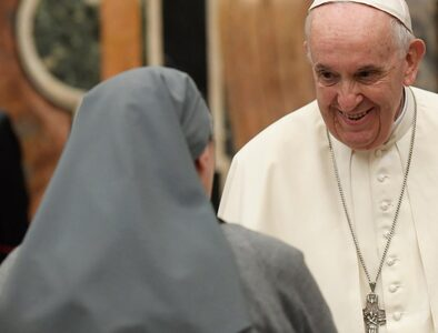 Pope to Sisters of Charity: you are masters in walking the way of charity