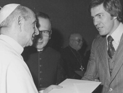 Pope marks German edition of L'Osservatore Romano on 50 years