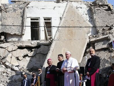 Pope visits center of ISIS brutality - Life Triumphs