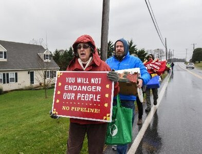 Congregation's lawsuit says gas pipeline violates its religious freedom