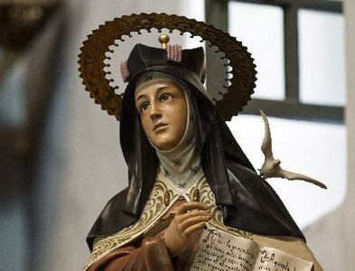 St. Teresa of Avila's life of prayer made her 'exceptional,' pope says