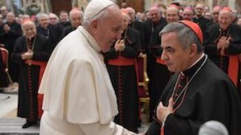 Pope celebrates Holy Thursday Mass with Cardinal Becciu