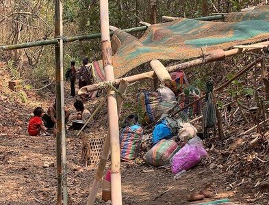 Myanmar military's offensive against Karen people